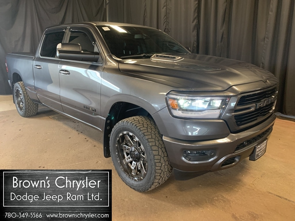 Featured Used 2019 Ram 1500 Sport Executive Demo model. Lots of extras!! Call for de Truck Crew Cab for sale in Westlock, AB