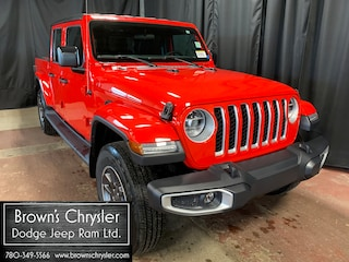New 2020 Jeep Gladiator Overland Truck Crew Cab 1C6HJTFG1LL104495 for sale in Westlock, AB