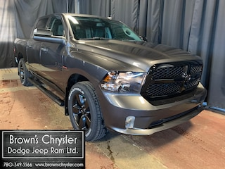 New 2021 Ram 1500 Classic Tradesman 4x4 Crew Cab 5.6 ft. box 140 in. WB 3C6RR7KT0MG513755 for sale in Westlock, AB