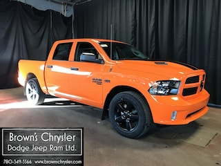 New 2019 Ram 1500 Classic Crew CAB 4X4 Ignition Orange Sport Package Truck Crew Cab 1C6RR7KT3KS610843 for sale in Westlock, AB