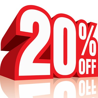Get 20% OFF All Brand Merchandise