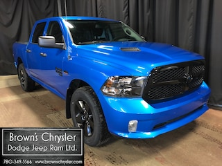 New 2020 Ram 1500 Classic Express pkg with Night Edition and Wheel and Sound Truck Crew Cab 1C6RR7KT8LS113904 for sale in Westlock, AB