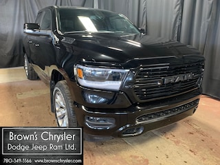 New 2019 Ram All-New 1500 Sport, Buckets, Speaker upgrade with Sub, Remote S Truck Quad Cab 1C6SRFET7KN545615 for sale in Westlock, AB