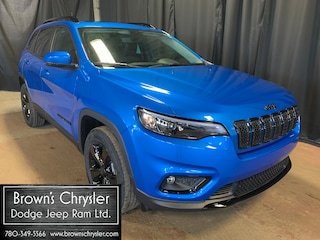 New 2021 Jeep Cherokee Altitude/Sunroof/Power Liftgate/Heated Steering 4x4 1C4PJMMN1MD105427 for sale in Westlock, AB