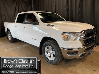 New 2019 Ram 1500 BIG Horn Crew CAB Hemi 4X4 Level 1 Equipment GR Camion cabine Crew 1C6SRFMT9KN569481 for sale in Westlock, AB