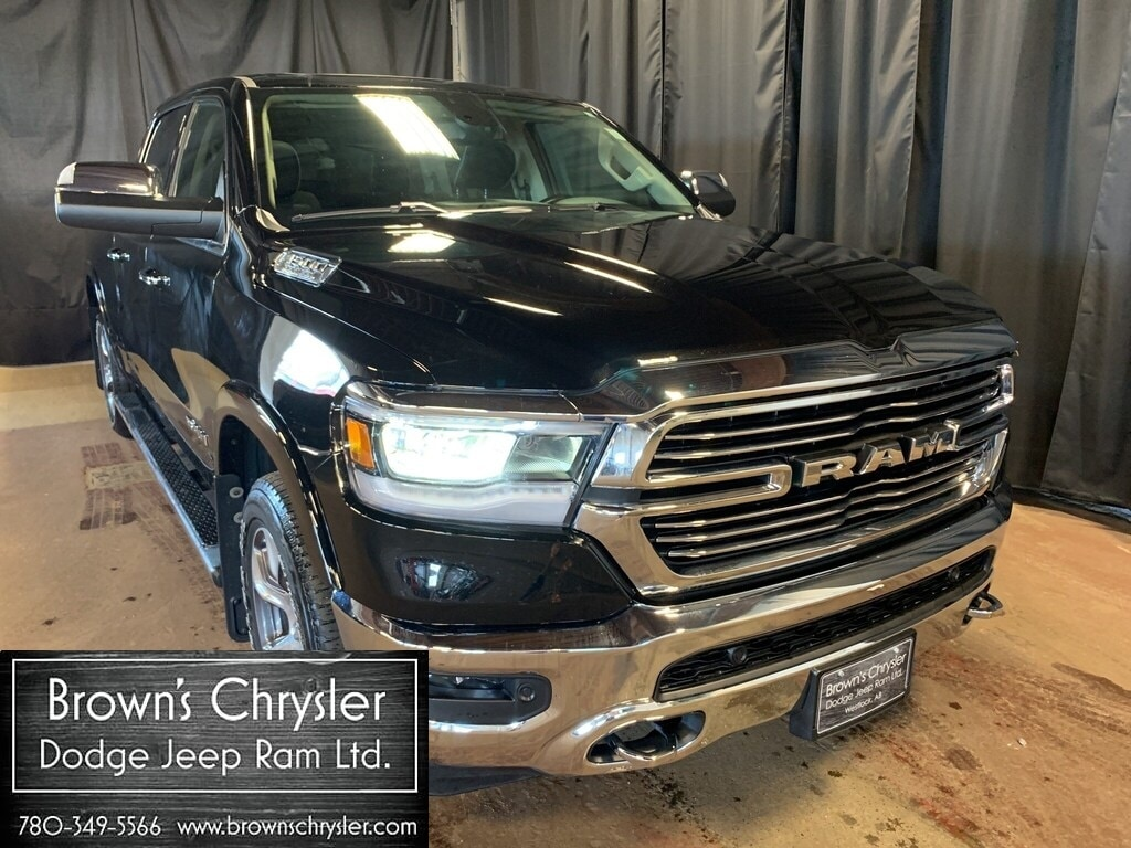 Featured Used 2019 Ram 1500 Laramie, sunroof, fully loaded demo, Save $20,000! for sale in Westlock, AB
