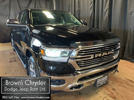 Featured Used 2019 Ram 1500 Laramie Crew with 6.5' box, Sunroof, Low KMS for sale in Westlock, AB
