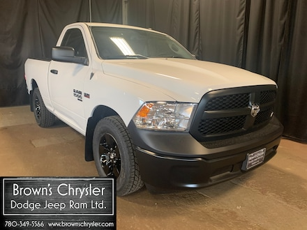 Featured new 2020 Ram 1500 Classic ST/ 2 Wheel Drive/ Spray Liner/ Great Value!! 4x2 Regular Cab 6.3 ft. box 120 in. WB 3C6JR6AT4LG211294 for sale in Westlock, AB