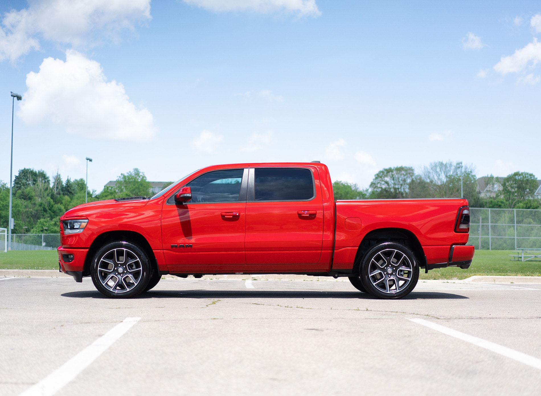 2020 Red Ram Sport Side View