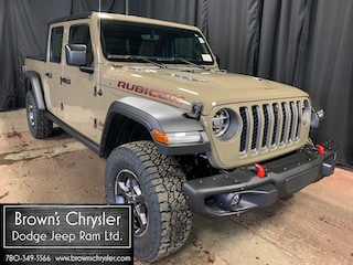 New 2020 Jeep Gladiator Rubicon 4x4 Truck Crew Cab 1C6JJTBGXLL171619 for sale in Westlock, AB