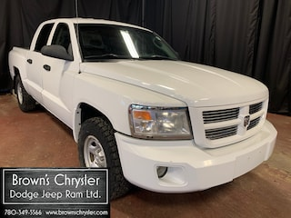 Used 2008 Dodge Dakota ST/GREAT TIRES/Crew Cab 4X4/4 Speed Auto/Anti-Spin 1D7HW28K78S556217 for sale in Westlock, AB