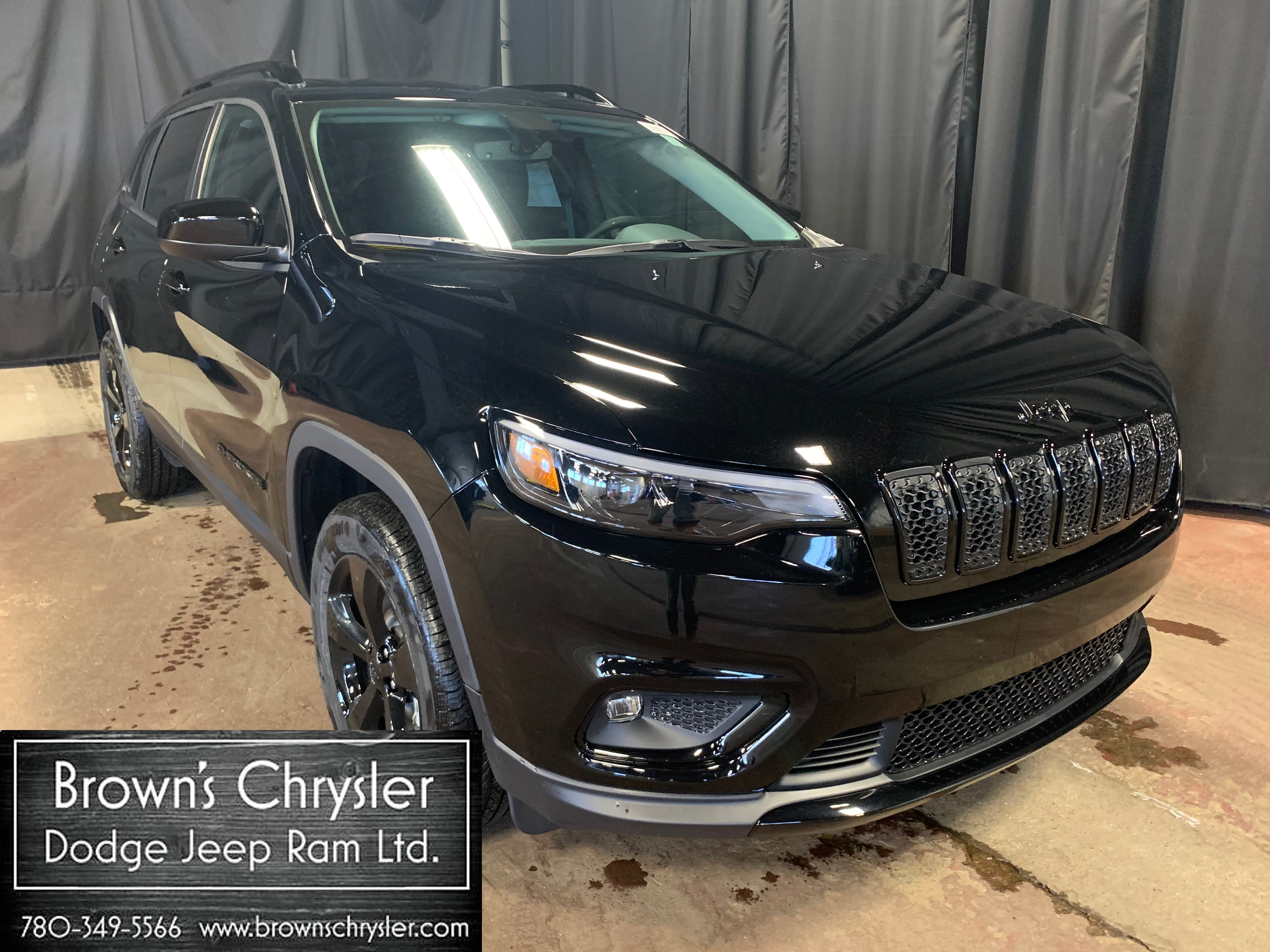Featured new 2019 Jeep New Cherokee Altitude SUV 1C4PJMCX5KD450024 for sale in Westlock, AB