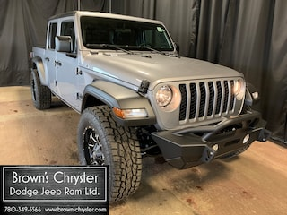 New 2020 Jeep Gladiator Sport S Truck Crew Cab 1C6HJTAG3LL104327 for sale in Westlock, AB