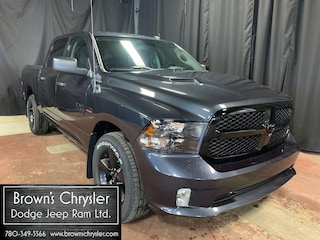 New 2021 Ram 1500 Classic Tradesman/Night Edition/Sport Hood/Touchscreen  4x4 Crew Cab 5.6 ft. box 140 in. WB 3C6RR7KT2MG540665 for sale in Westlock, AB