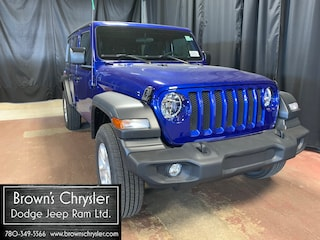 2018 Jeep All-New Wrangler Unlimited Sport 4DR 4X4 / E-Torque Turbo SUV 1C4HJXDN8JW230009 for sale in Westlock, AB
