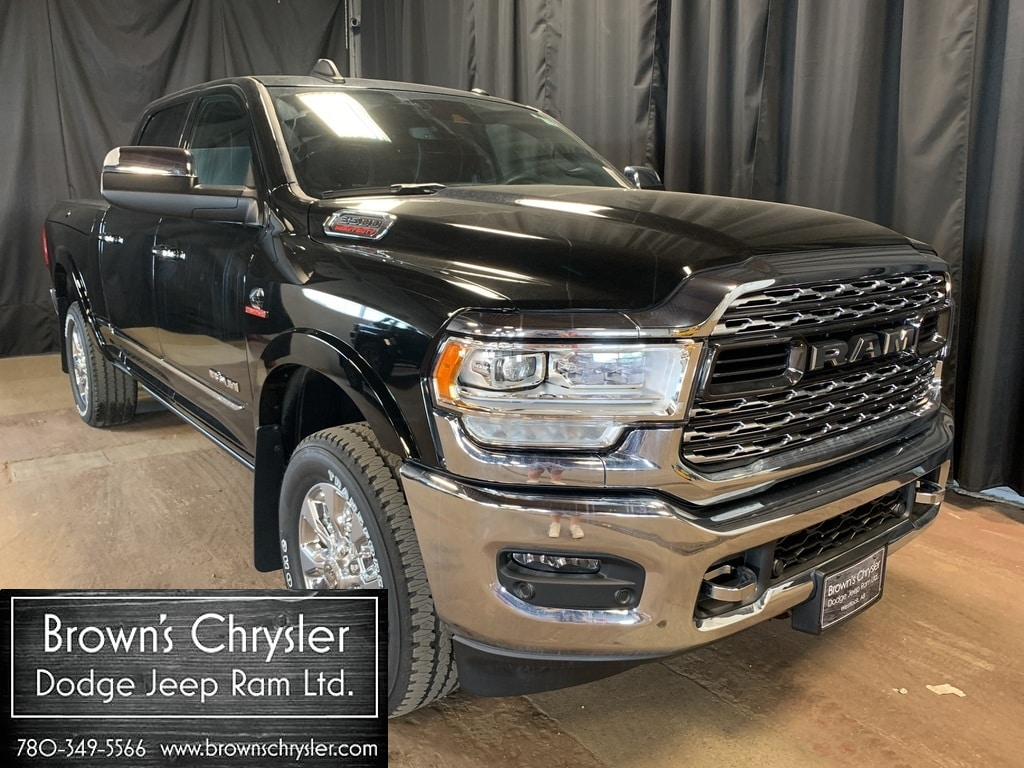 Featured new 2019 Ram 3500 Limited, Sunroof, High mount camera, 6.7L Cummins Truck Crew Cab 3C63R3SL2KG523991 for sale in Westlock, AB