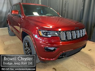 New 2020 Jeep Grand Cherokee Laredo Altitude 4X4, Sunroof, Uconnect, Leveling Suspension, Hitch Reciever SUV 1C4RJFAG9LC436724 for sale in Westlock, AB