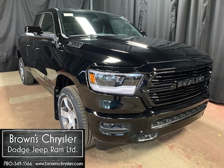 Featured new 2020 Ram All-New 1500 Sport, Bucket Seats, Remote Start, Hitch  Truck Quad Cab 1C6SRFET9LN163636 for sale in Westlock, AB