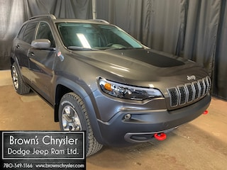 New 2020 Jeep Cherokee Trailhawk, Bluetooth, All Weather Floor Mats, 8.4 Inch Touchscreen SUV 1C4PJMBX8LD630245 for sale in Westlock, AB