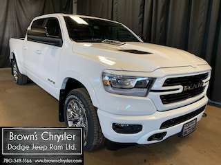 New 2021 Ram 1500 Laramie Sport Crew Cab 4X4, Uconnect 4C NAV With 8 Truck Crew Cab 1C6SRFRT0MN507835 for sale in Westlock, AB