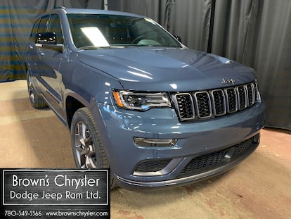 New 2020 Jeep Grand Cherokee Limited X Edition With Sport Hood And Black Grill For Sale Westlock Ab