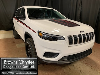 New 2019 Jeep New Cherokee Sport SUV 1C4PJMAX8KD450022 for sale in Westlock, AB