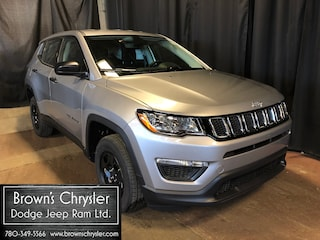 New 2020 Jeep Compass Sport SUV 3C4NJDABXLT135102 for sale in Westlock, AB