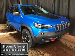 New 2020 Jeep Cherokee Trailhawk SUV 1C4PJMBXXLD597409 for sale in Westlock, AB
