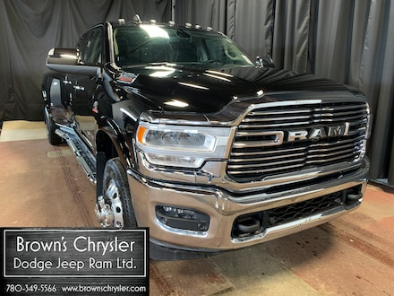 Featured new 2019 Ram 3500 Laramie, 6.7L, 5th Wheel Prep, Tow Technology Truck Crew Cab 3C63RRJL7KG515678 for sale in Westlock, AB