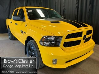 2019 Ram 1500 Classic Express Stinger Yellow Truck Crew Cab 1C6RR7KTXKS649008 for sale in Westlock, AB