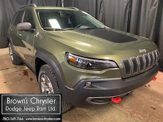 New 2020 Jeep Cherokee Trailhawk SUV 1C4PJMBN6LD564115 for sale in Westlock, AB