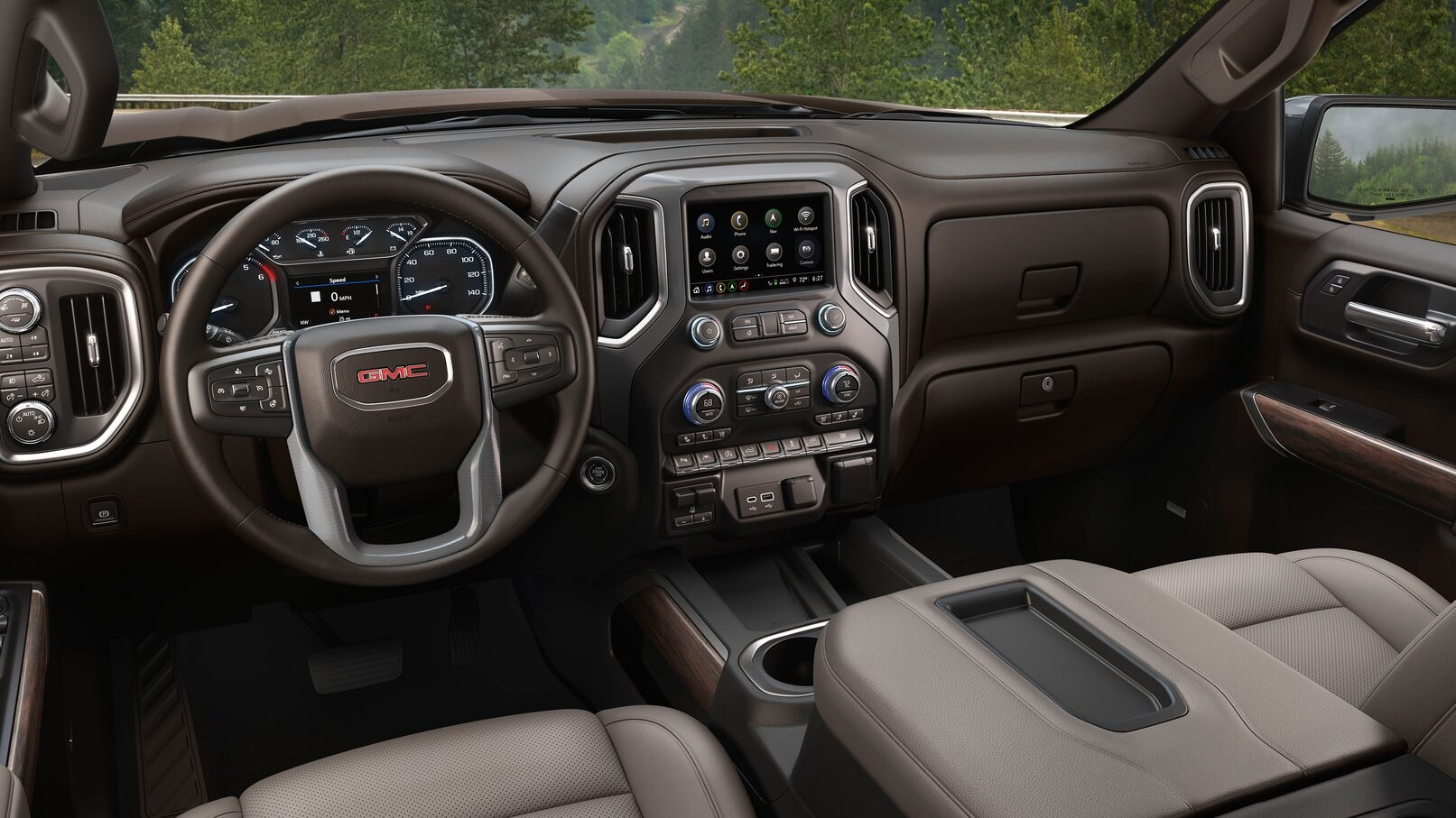 2020 GMC Sierra Interior Dash