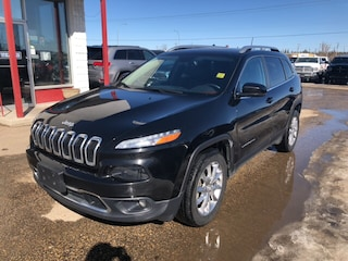 Used 2017 Jeep Cherokee Limited SUV 1C4PJMDS6HD222948 in Whitecourt, AB
