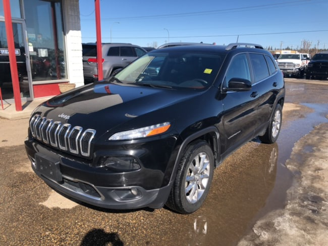 New 2017 Jeep Cherokee Limited SUV For Sale Whitecourt, AB