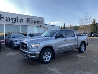 New 2021 Ram 1500 Big Horn 4x4 Crew Cab 1C6SRFFT0MN553248 in Whitecourt, AB