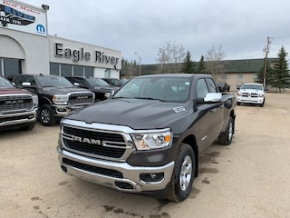 New 2019 Ram All-New 1500 Big Horn Truck Quad Cab 1C6SRFBT7KN875226 in Whitecourt, AB