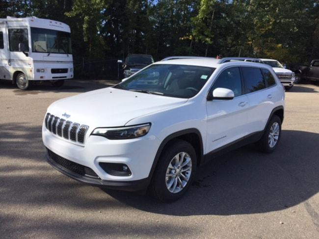 New 2019 Jeep New Cherokee North SUV For Sale Whitecort, AB