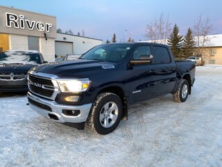 New 2021 Ram 1500 Big Horn 4x4 Crew Cab 1C6SRFFT2MN553249 in Whitecourt, AB
