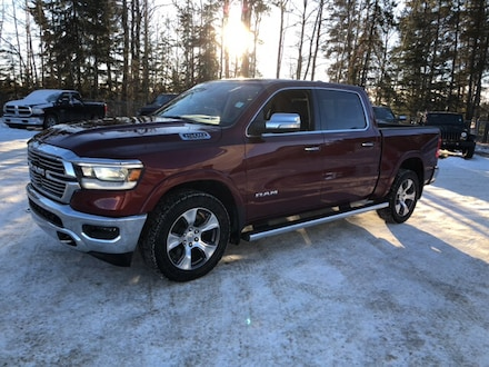 Featured Used  2019 Ram All-New 1500 Laramie Truck Crew Cab for sale in Whitecourt, AB.