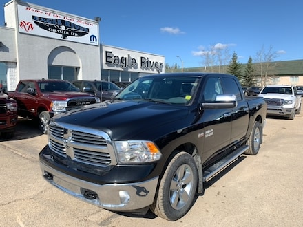 Featured Used  2017 Ram 1500 Big Horn Truck Crew Cab for sale in Whitecourt, AB.