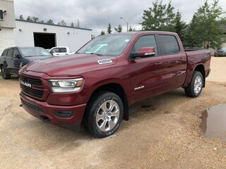 New 2019 Ram All-New 1500 Big Horn Truck Crew Cab 1C6SRFFT5KN746380 in Whitecourt, AB