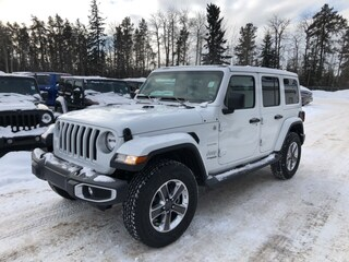 New 2018 Jeep All-New Wrangler Unlimited Sahara SUV 1C4HJXEGXJW280880 in Whitecourt, AB
