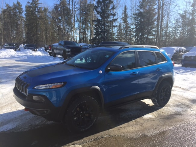 New 2018 Jeep Cherokee Trailhawk SUV For Sale Whitecourt, AB