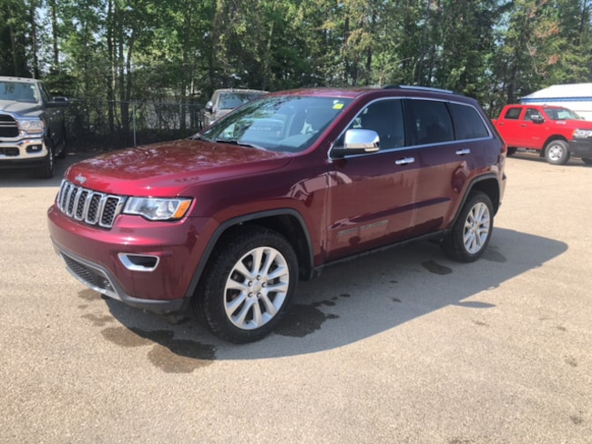 New 2017 Jeep Grand Cherokee Limited SUV For Sale Whitecourt, AB