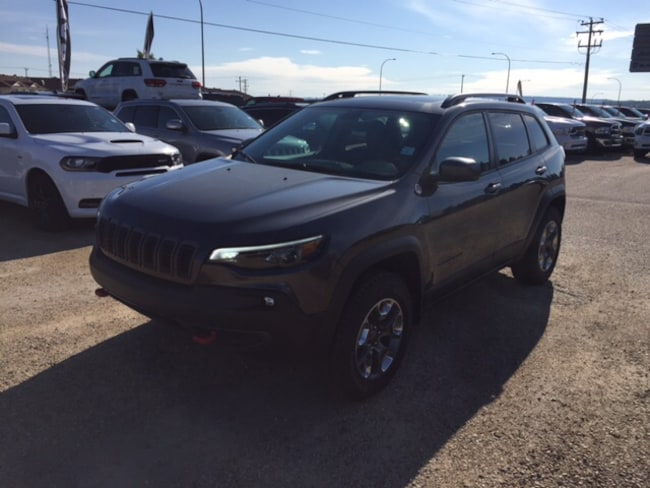 New 2019 Jeep New Cherokee Trailhawk Elite SUV For Sale Whitecort, AB
