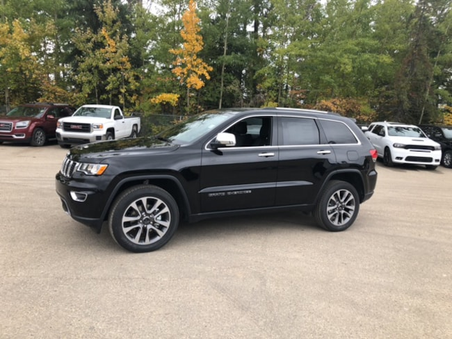 New 2018 Jeep Grand Cherokee Limited SUV For Sale Whitecort, AB