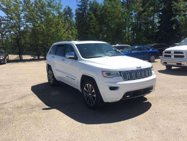 New 2017 Jeep Grand Cherokee Overland SUV For Sale Whitecourt, AB