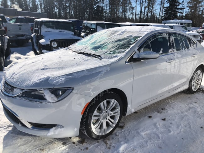 New 2015 Chrysler 200 Limited Sedan For Sale Whitecourt, AB