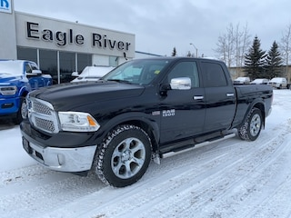 Used 2017 Ram 1500 Laramie 4x4 Crew Cab 6.3 ft. box 149 in. WB 1C6RR7VT6HS675061 in Whitecourt, AB