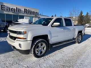 Used 2017 Chevrolet Silverado 1500 1LT 4x4 Crew Cab 5.75 ft. box 143.5 in. WB 3GCUKREC8HG506976 in Whitecourt, AB